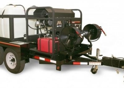 MiTM pressure washer trailer
