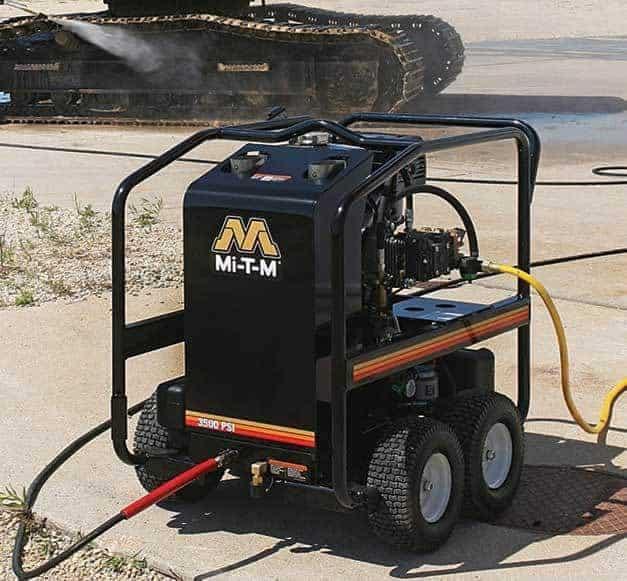 MiTM hot water Pressure Washer