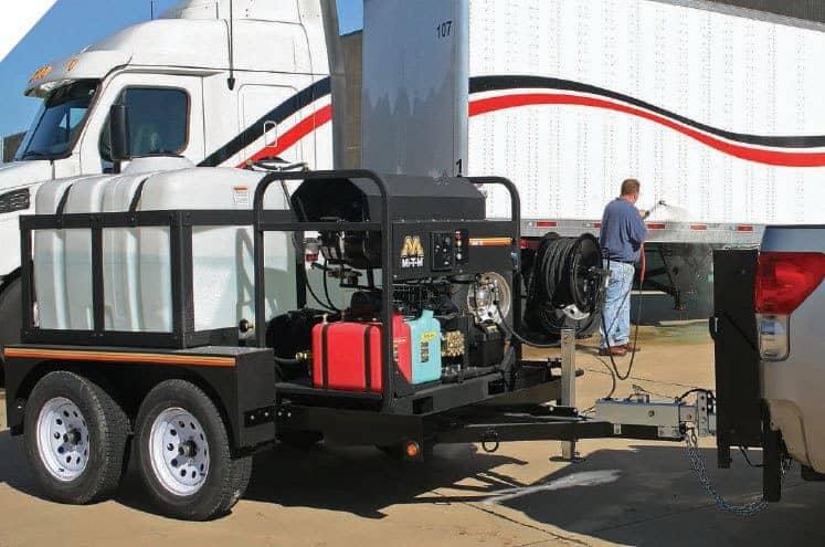 MiTM pressure washer trailer