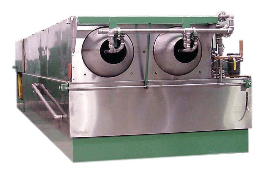 rotary drum parts washer