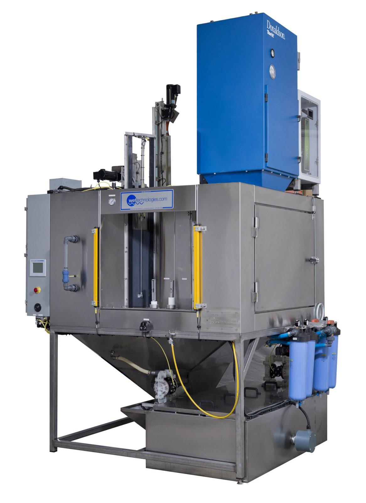 indexing wet blasting equipment