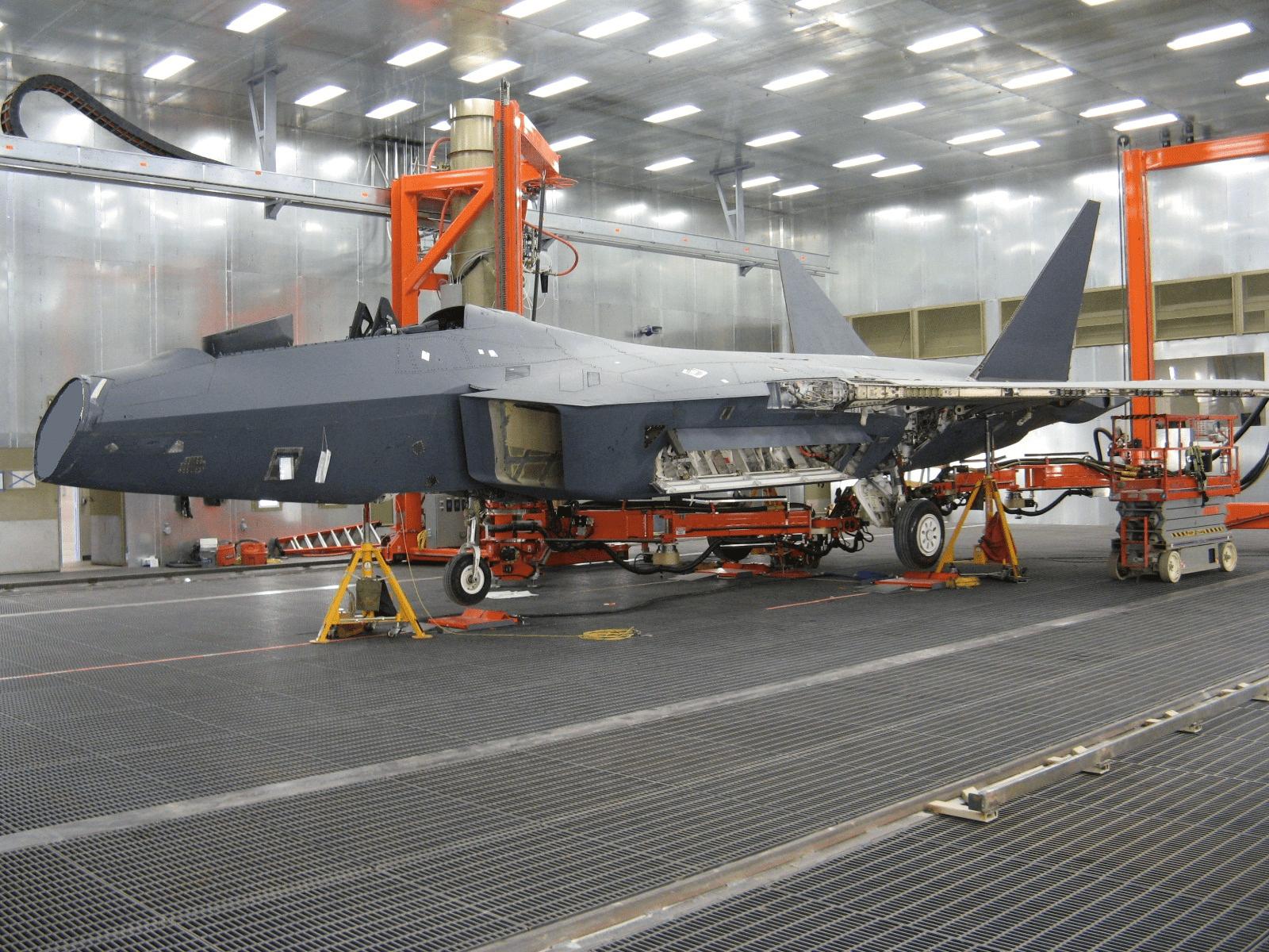 aircraft paint stripping