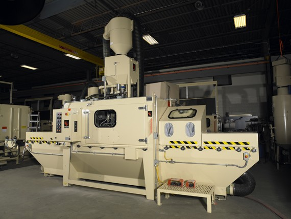 automated blasting systems