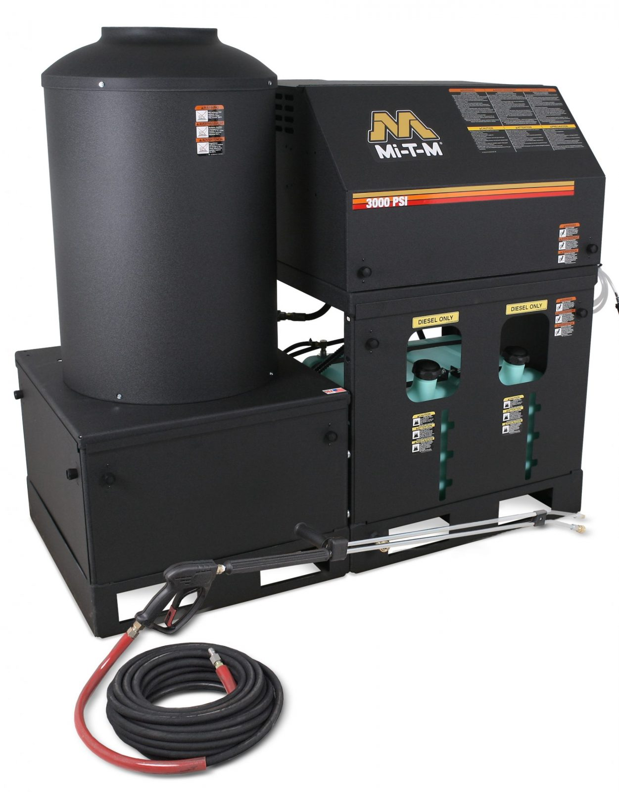 MiTM hot pressure washer
