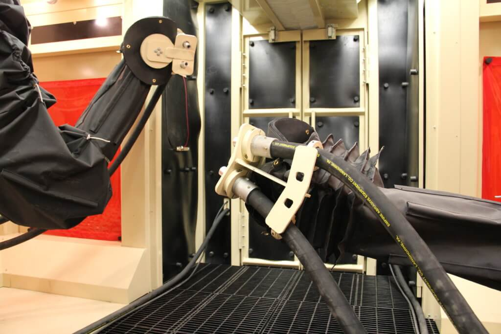 Robotic blasting System