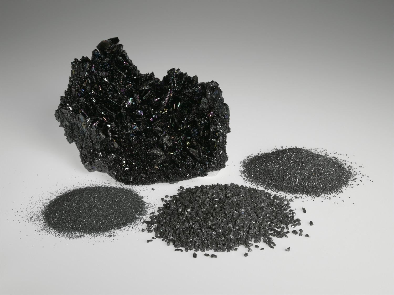 silicon carbide blasting media