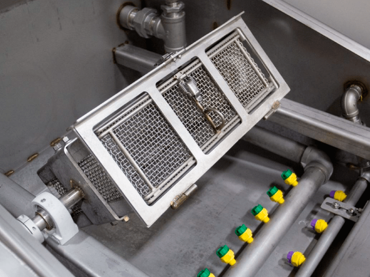 rotary basket washer