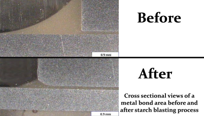 metal bond removal