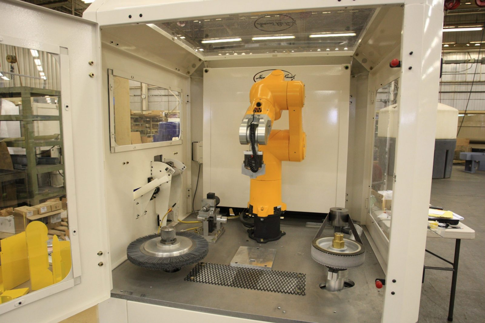 robotic finishing cell