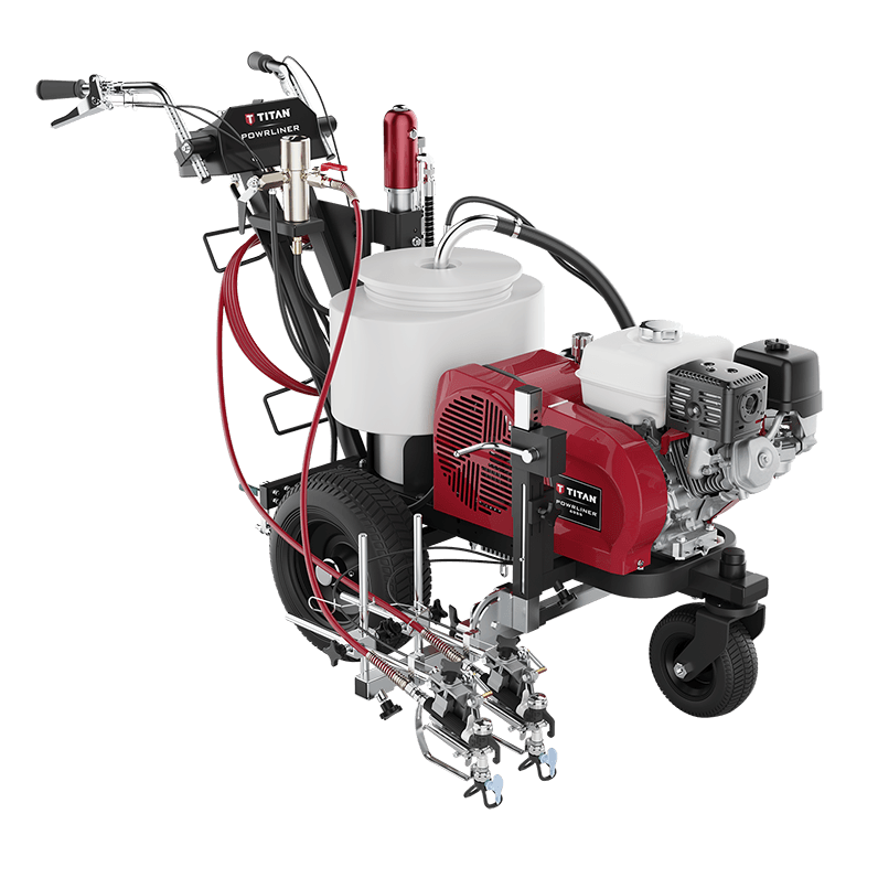 titan pavement marking sprayer