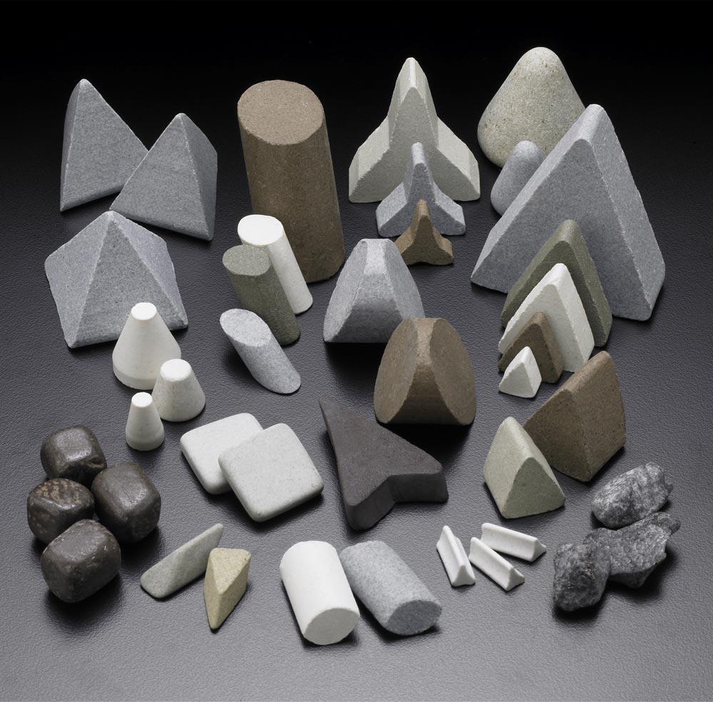 ceramic vibratory media