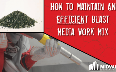 How To Maintain An Efficient Sandblast Media Work Mix