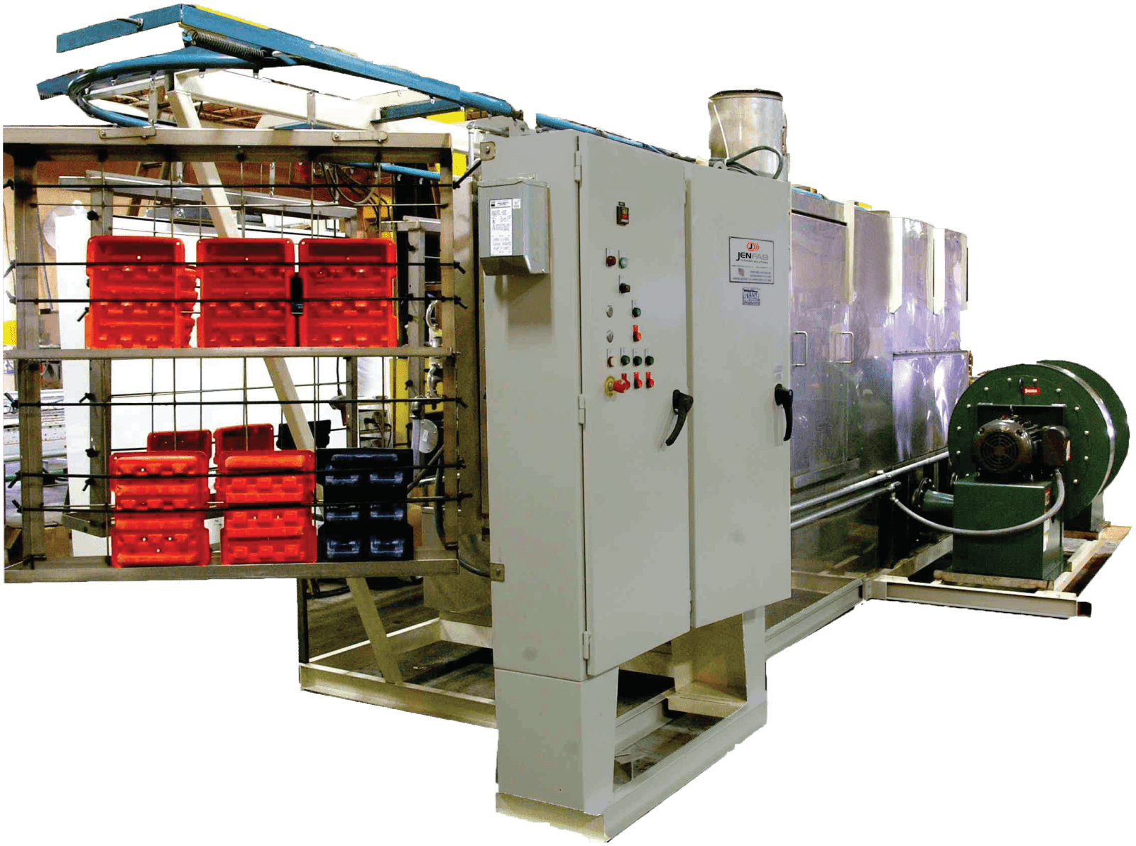 dunnage parts washer