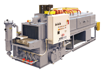conveyor parts washer