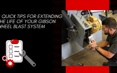8 Quick Tips for Extending the Life of Your Gibson Wheel Blast System