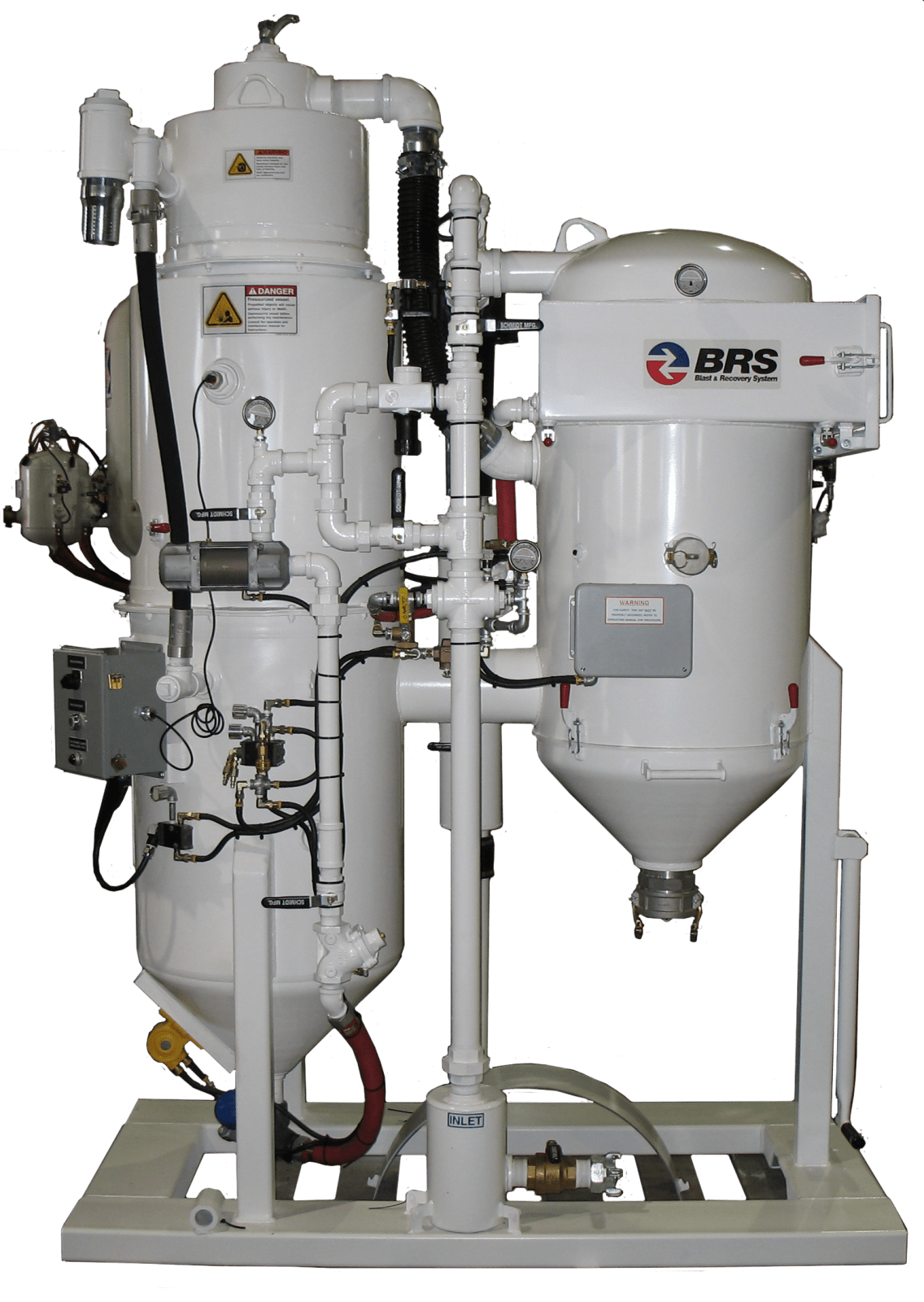 schmidt blast and recovery system