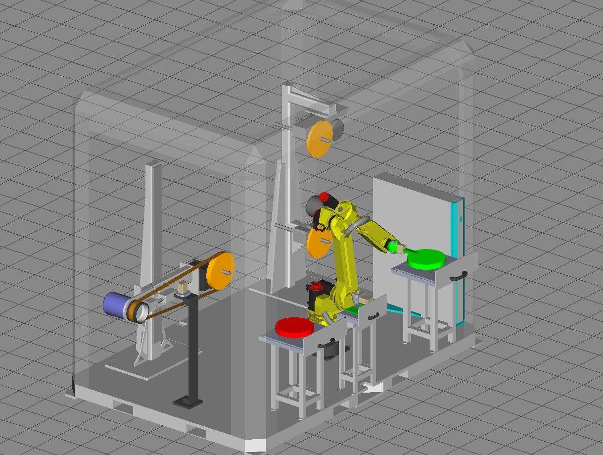 robotic metal finishing system