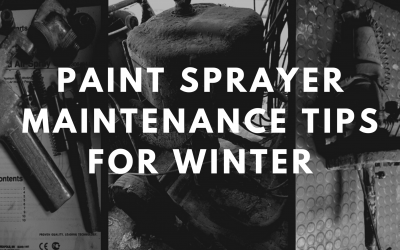 Paint Sprayer Maintenance Tips for Winter